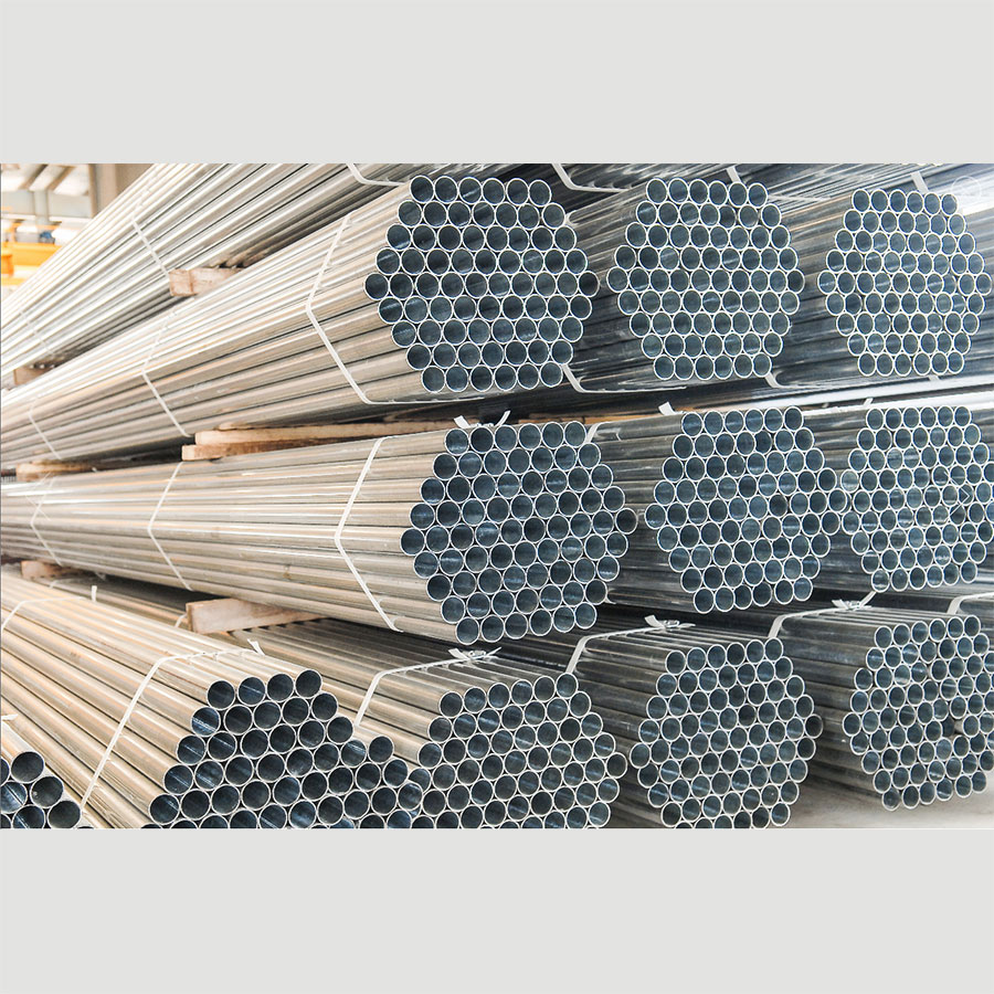 Galvanised Pipe and Oval Rail