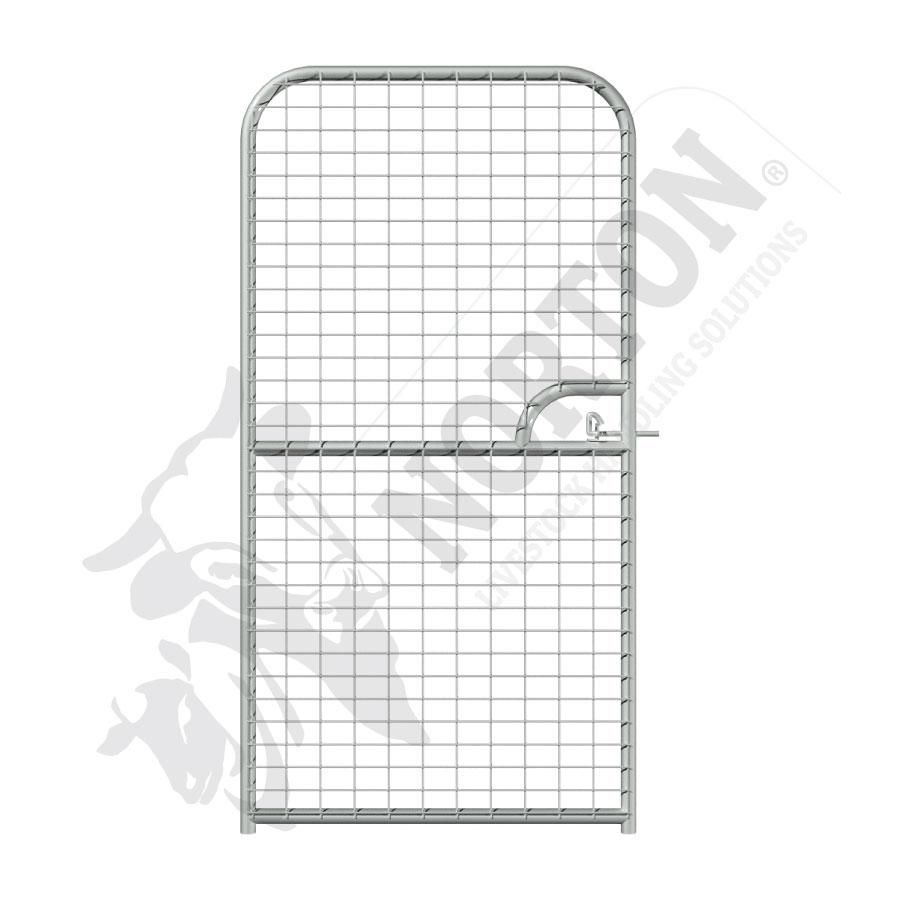 dog-pen-galvanised-mesh-door-panels